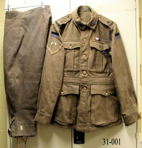 Service Dress Jacket and Jodhpurs Army, WWI