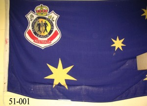 RSL Flag with 3 Persons badge